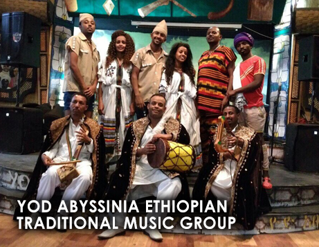 YOD ABYSSINIA ETHIOPIAN TRADITIONAL MUSIC GROUP