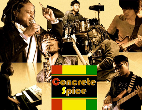 CONCRETE SPICE BAND