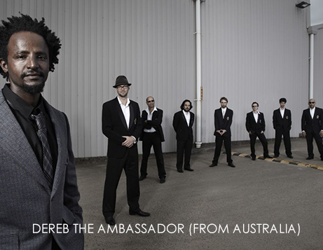 DEREB THE AMBASSADOR (from Australia)