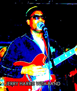 Jerry Harris with band